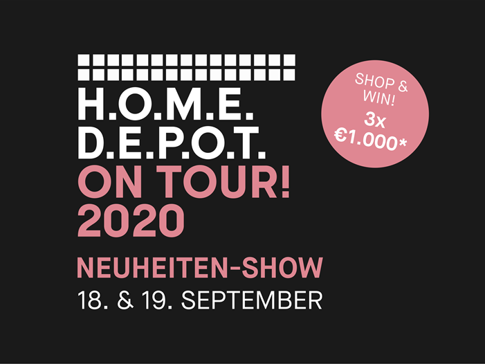 Homedepot on Tour Messe 2020